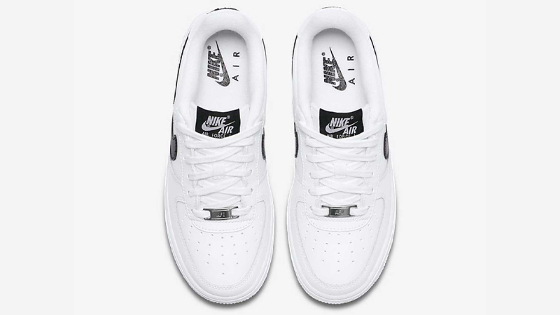Nike Air Force 1 GS White Black Middle