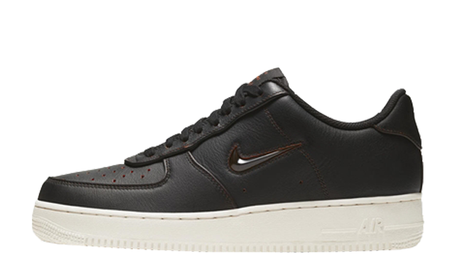 Nike Air Force 1 Low Premium Brush Off Leather Black