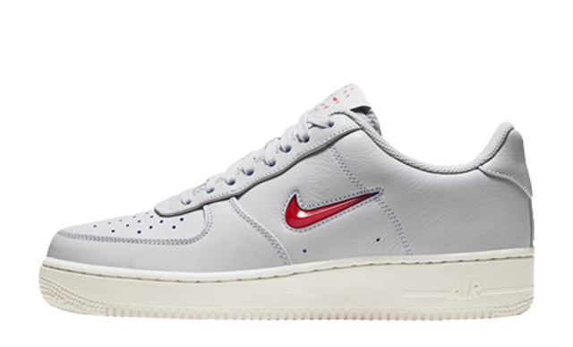 Nike Air Force 1 Low Premium Brush Off Leather Grey