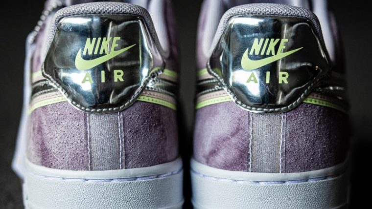 Nike Air Force 1 P(HER)SPECTIVE Purple Back thumbnail image