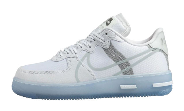 Nike Air Force 1 React Low QS White