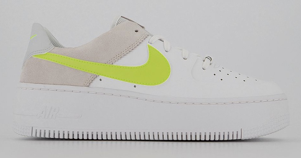 Nike Air Force 1 Sage White Lemon Venom