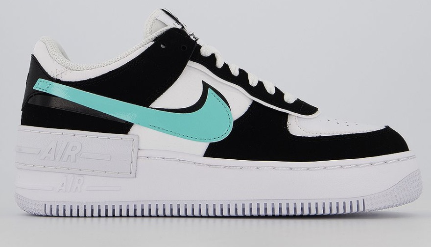 Nike Air Force 1 Shadow White Aurora Green