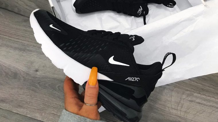 Nike Air Max 270 Black White TSW