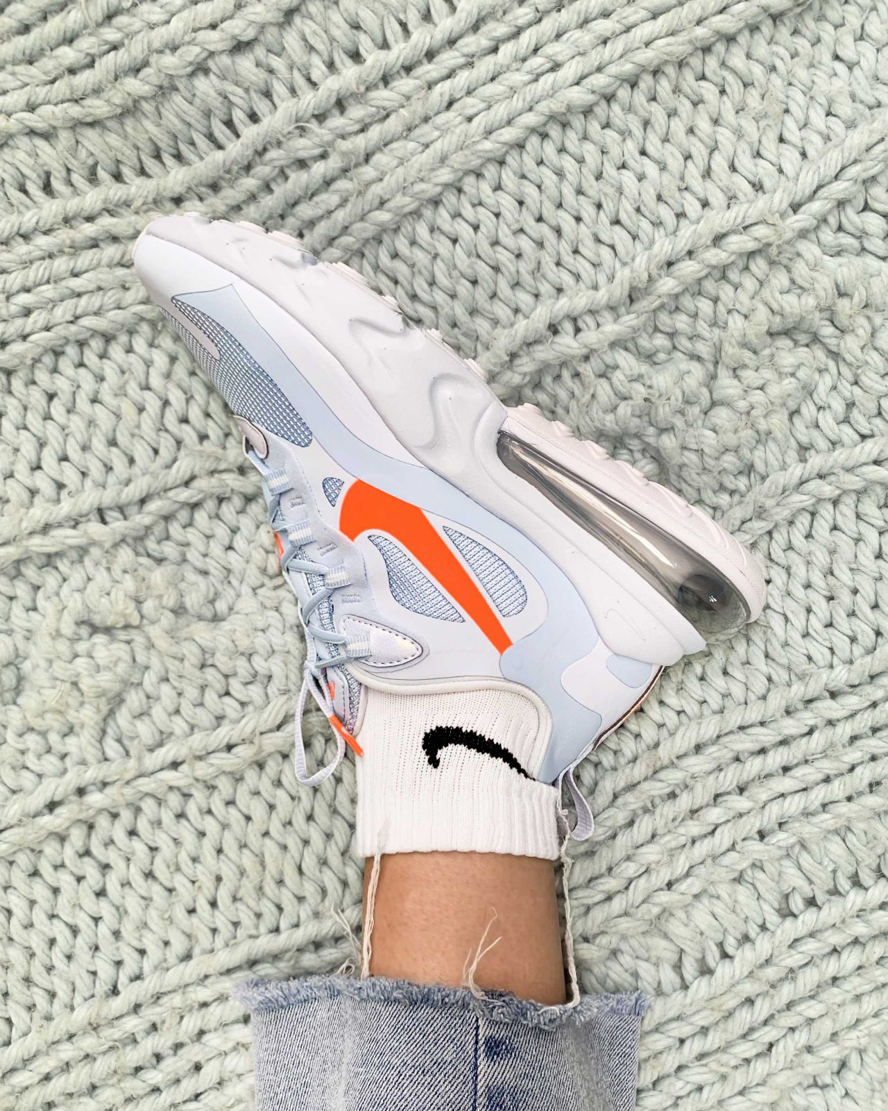 This Pastel Air Max 270 React In Hydrogen Blue Is A Must Have