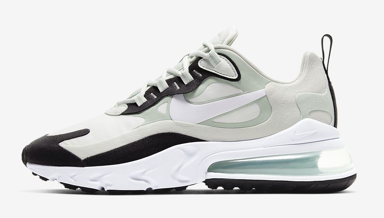 Nike Air Max 270 React Pistachio frost.