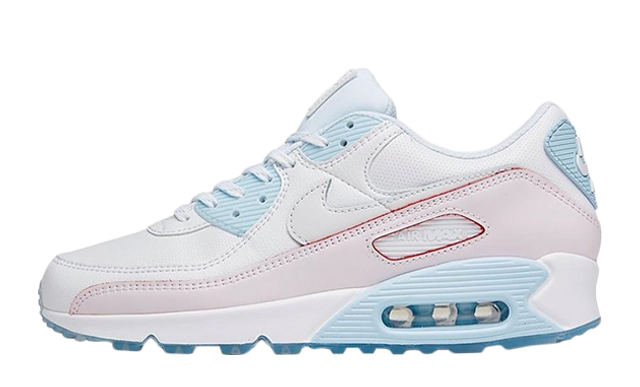 Nike Air Max 90 DIY Flare White Hydrogen Blue