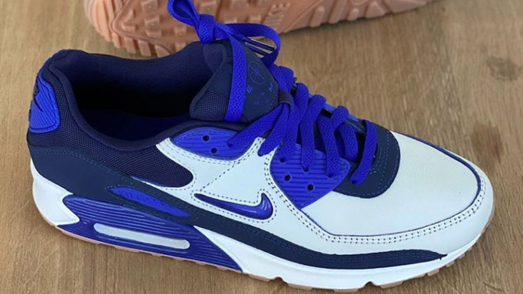 Nike Air Max 90 Home Away White Blue Top thumbnail image
