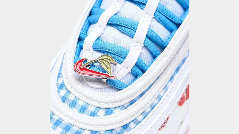 Nike Air Max 97 Cherry Kids Closeup