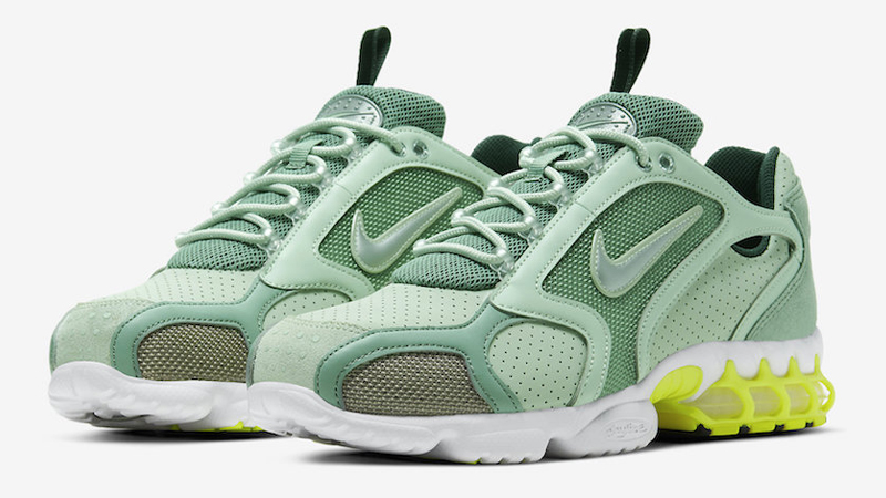 Nike Air Zoom Spiridon 2 Cage Pistachio Frost Front