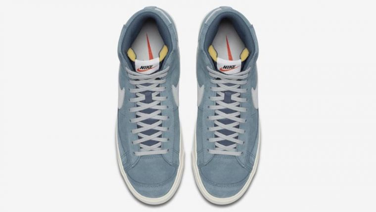 Nike Blazer Mid 77 Suede Blue Middle thumbnail image