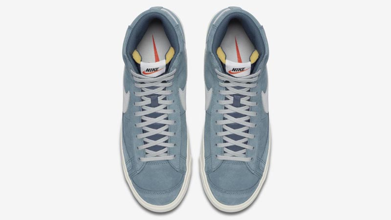 Nike Blazer Mid 77 Suede Blue Middle