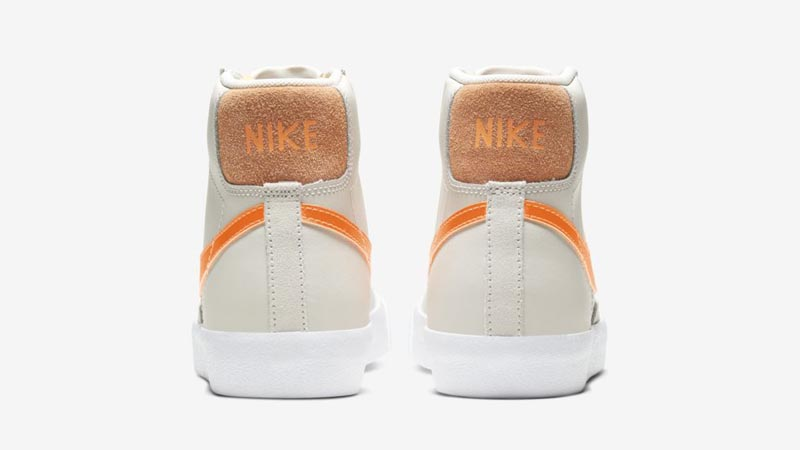 Nike Blazer Mid 77 Vintage Light Bone Back