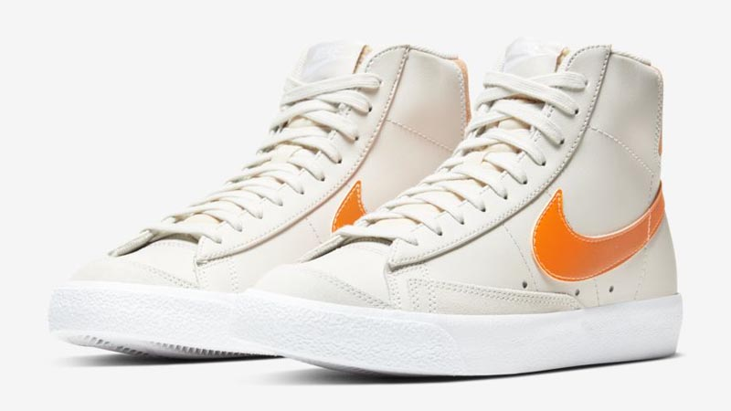 Nike Blazer Mid 77 Vintage Light Bone Front