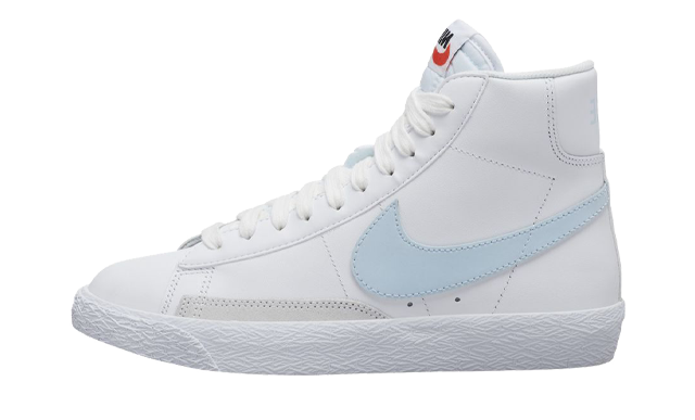 Nike Blazer Mid White Light Blue