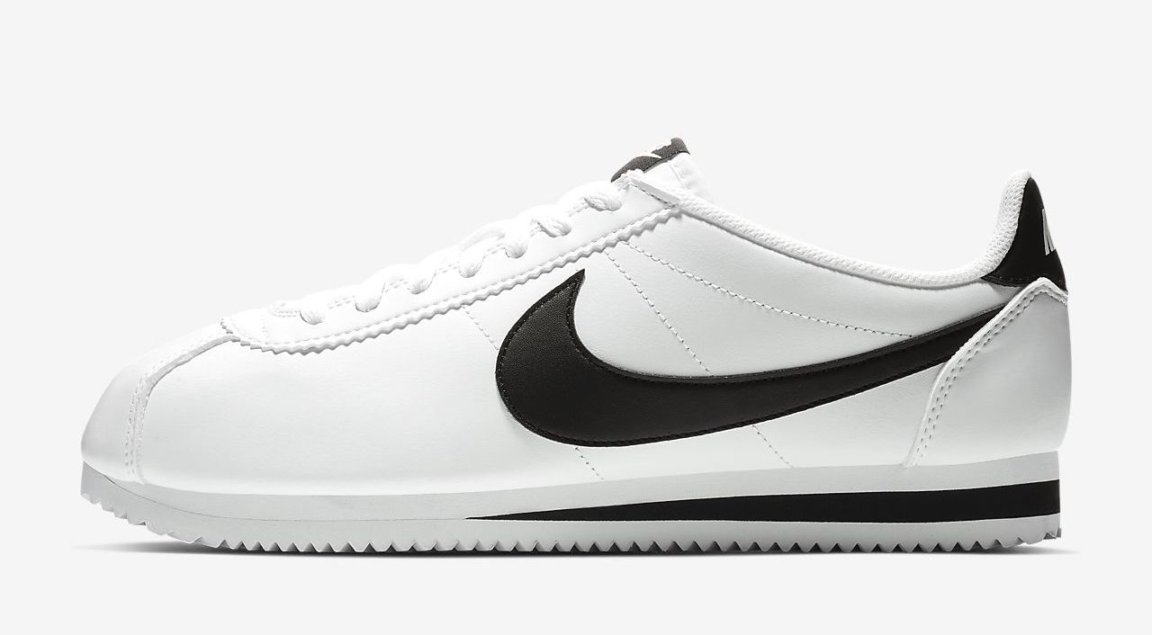 Nike Cortez White black