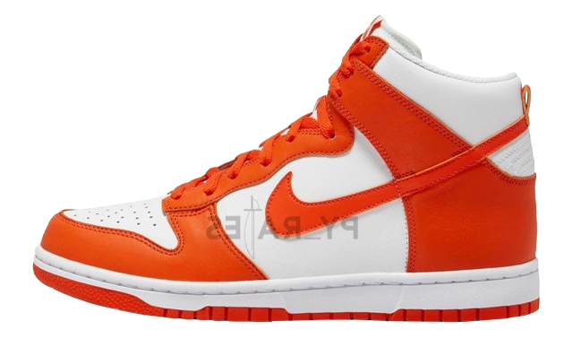 Nike Dunk Hi Retro Orange Blaze