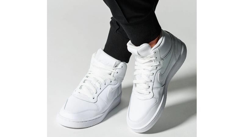 Nike Ebernon Mid White   AQ1778-100