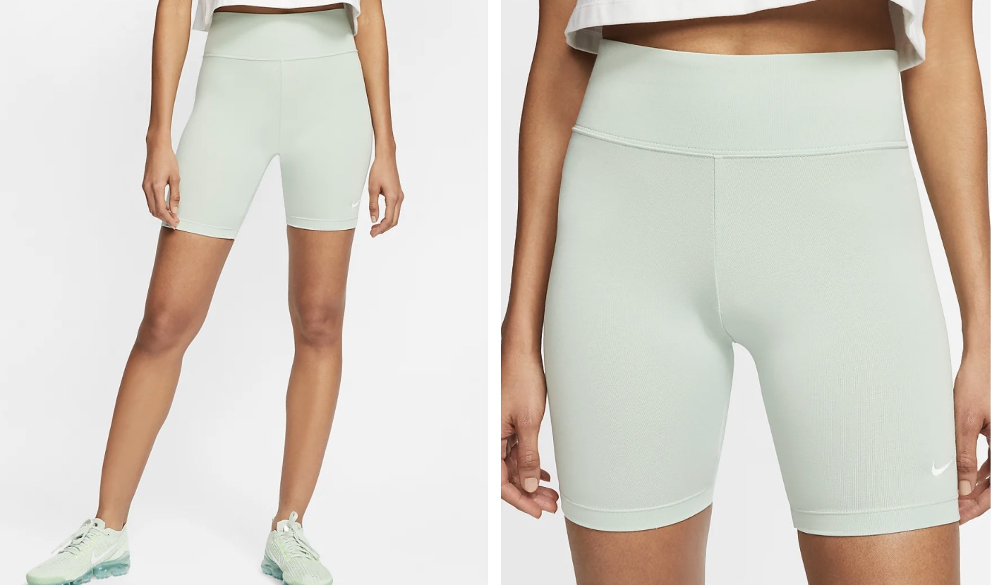 Nike Leg A See Cycle Shorts Pistachio Frost