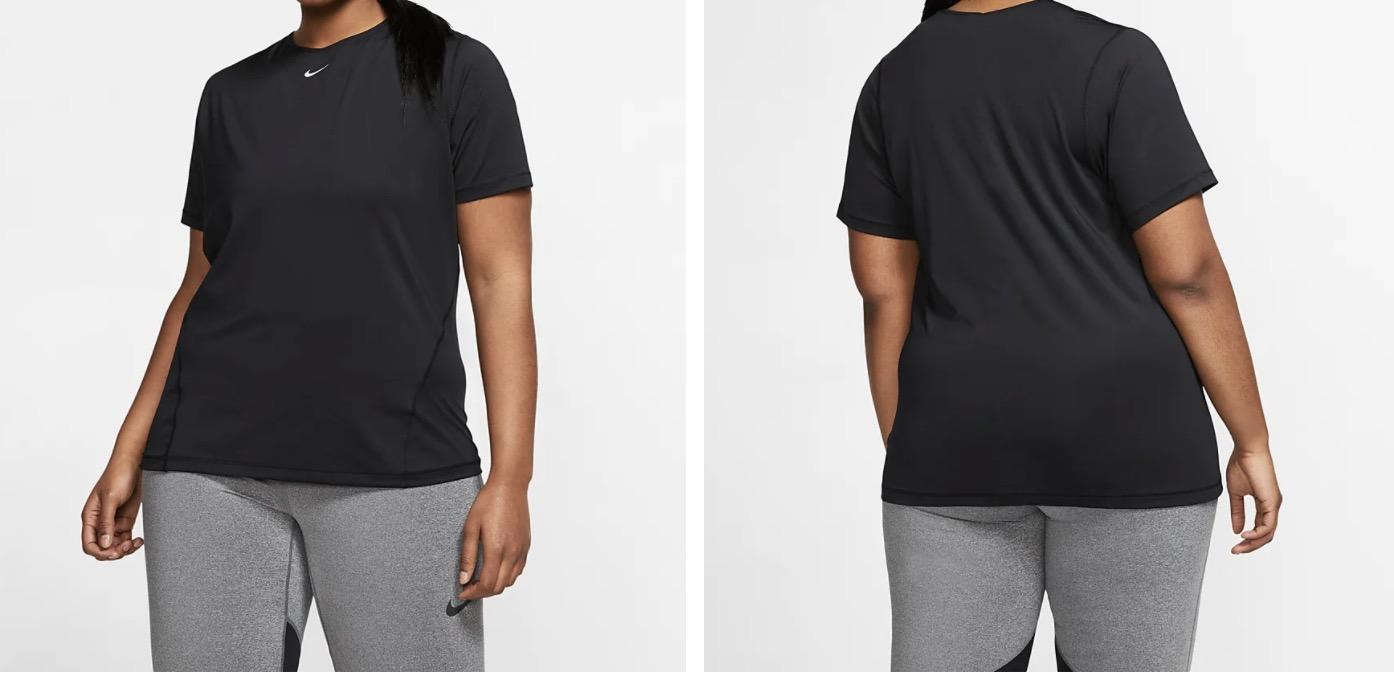 Nike Mesh Top Black