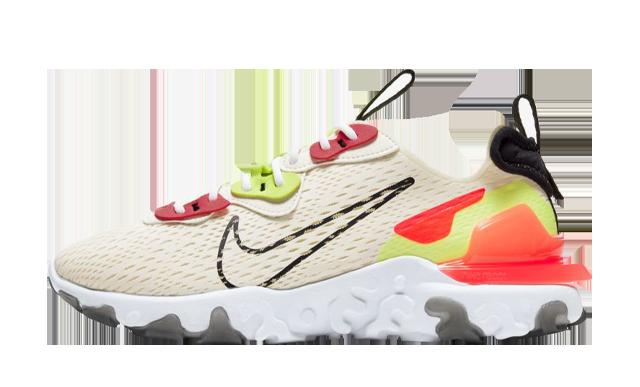 Nike React Vision Orange Volt