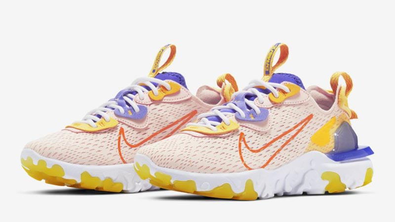 Nike React Vision Washed Coral Front