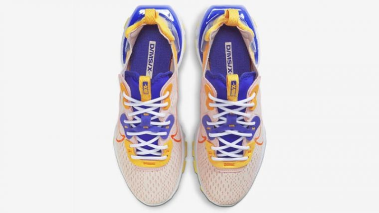 Nike React Vision Washed Coral Middle thumbnail image