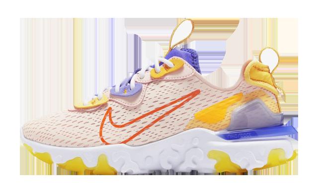 Nike React Vision Washed Coral