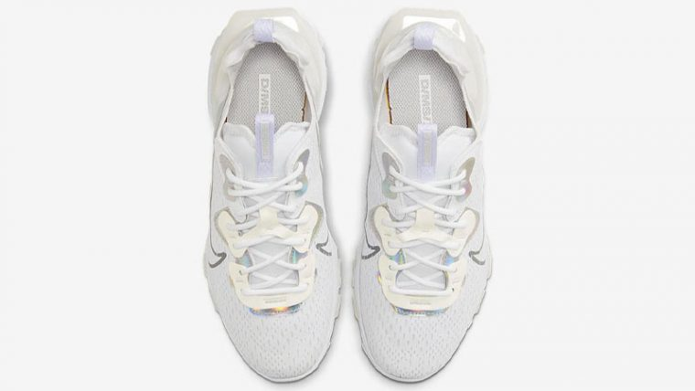 Nike React Vision White Particle Grey Middle thumbnail image