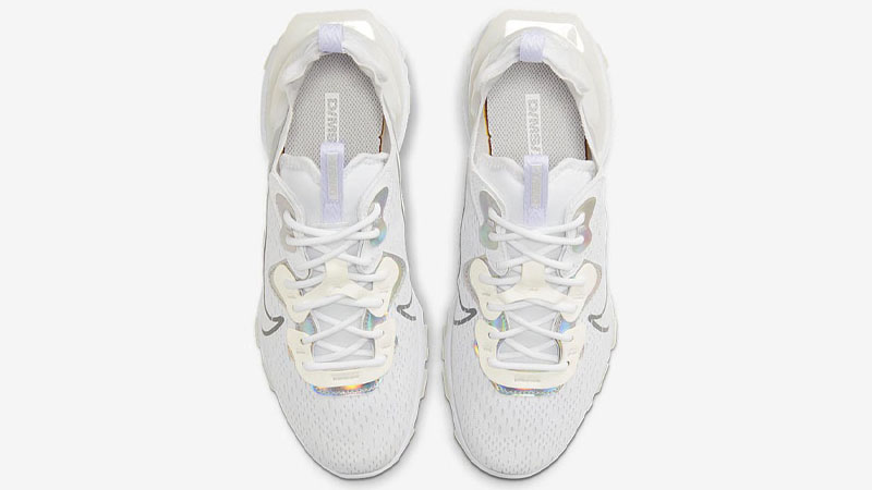 Nike React Vision White Particle Grey Middle