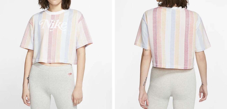 Nike Sportswear Crop T shirt Pastel