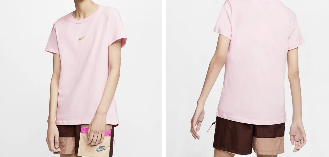 Nike Swoosh T-Shirt Pink