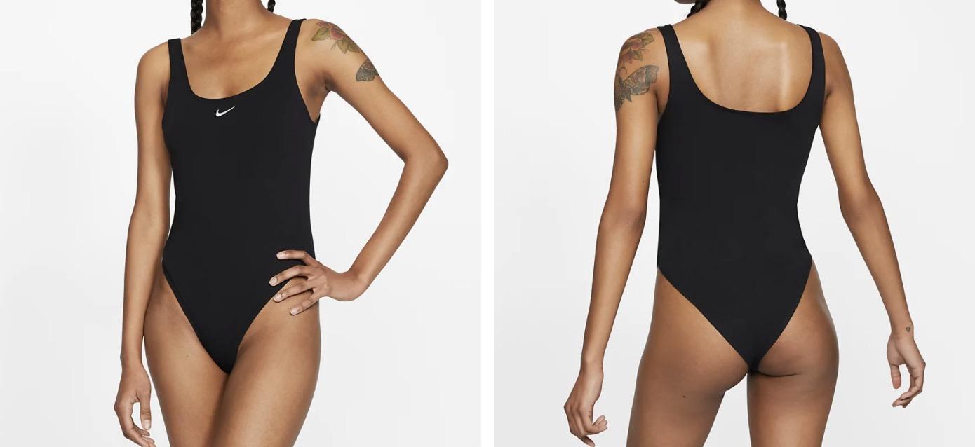 Nike sportswear bodysuit black