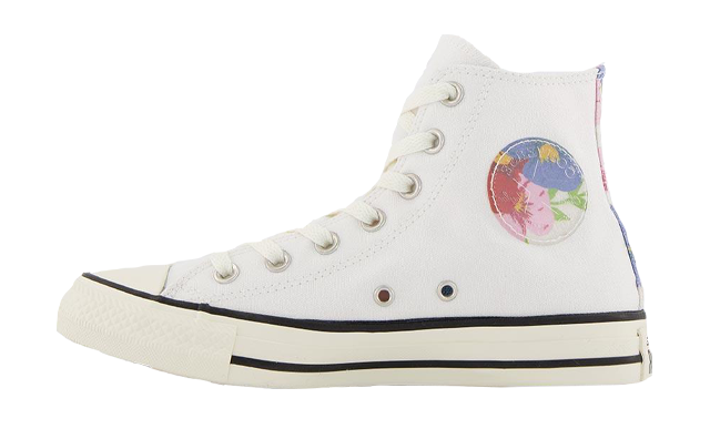 OFFICE x Converse All Star Hi White Egret Floral
