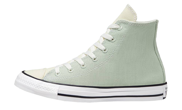 Renew Cotton x Converse Chuck Taylor All Star High Green Oxide