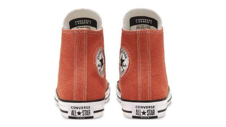 Renew Cotton x Converse Chuck Taylor All Star High Venetian Rust Back thumbnail image