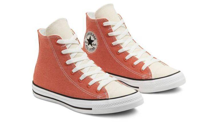 Renew Cotton x Converse Chuck Taylor All Star High Venetian Rust Front thumbnail image