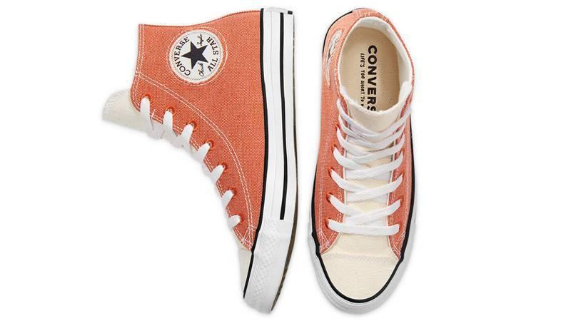 Renew Cotton x Converse Chuck Taylor All Star High Venetian Rust Middle
