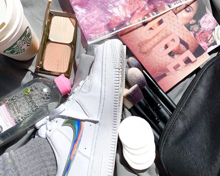 See What Everyday Essentials Are In @frenchbyname's Makeup Bag 5