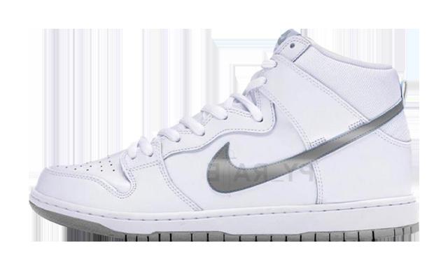 Slam Jam x Nike Dunk High White Black