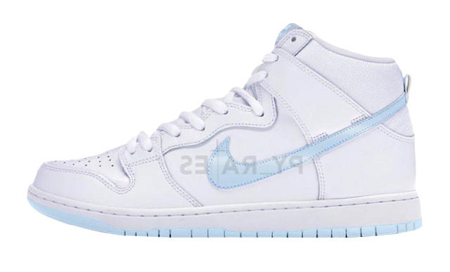 Slam Jam x Nike Dunk High White Platinum