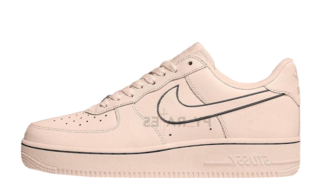 Stussy x Nike Air Force 1 Fossil Stone
