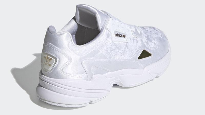 adidas Falcon Cloud White Gold Back