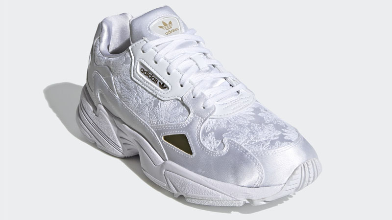 adidas Falcon Cloud White Gold Front