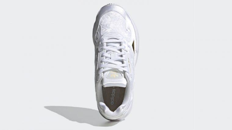 adidas Falcon Cloud White Gold Middle thumbnail image