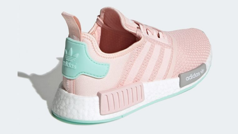 adidas NMD R1 Icey Pink Clear Mint Back thumbnail image