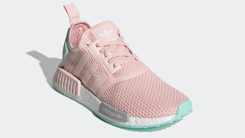adidas NMD R1 Icey Pink Clear Mint Front