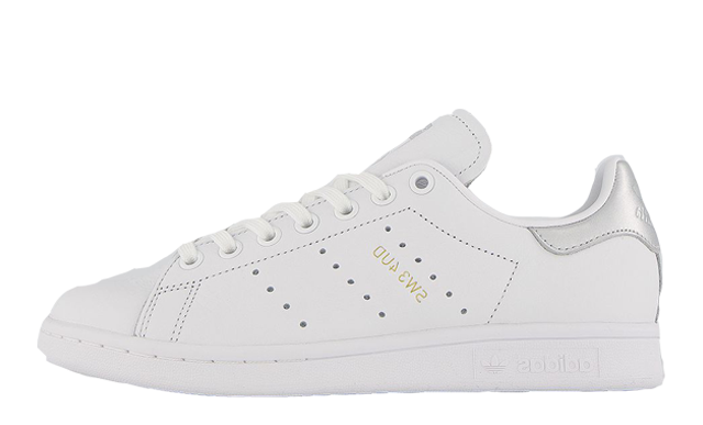 adidas Stan Smith White Silver Metallic