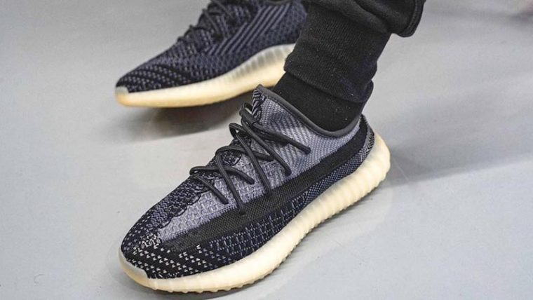 adidas Yeezy Boost 350 V2 Asriel On Foot Top thumbnail image