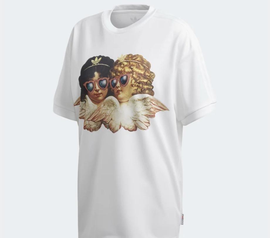 adidas x fiorucci angels t-shirt